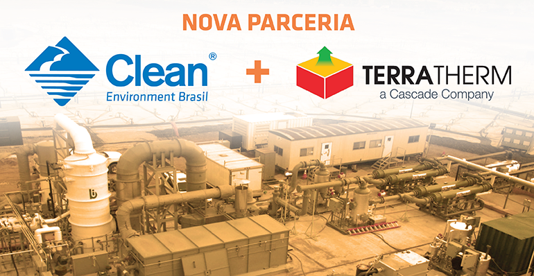Clean Environment Brasil e TerraTherm, Inc. assinam parceria