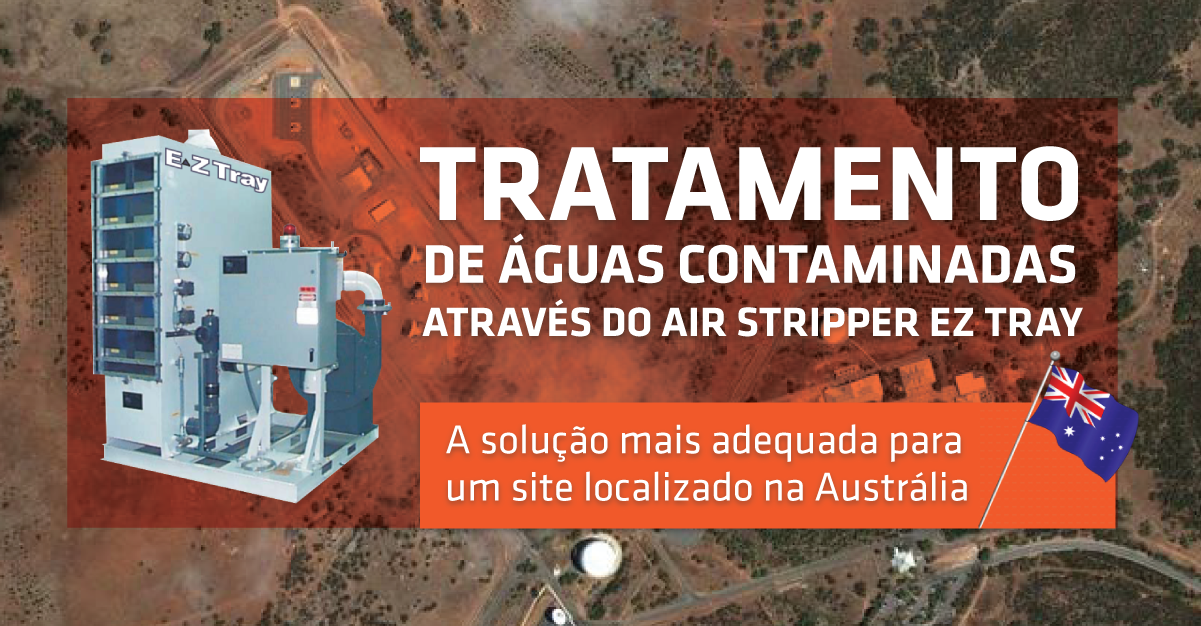 Tratamento de Águas Contaminadas através do Air Stripper Ez Tray